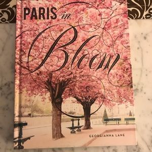 Paris in bloom coffee table book. New